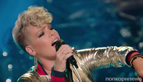 Пинк вместе со своей семьей снялась в клипе на песню Whatever You Want
