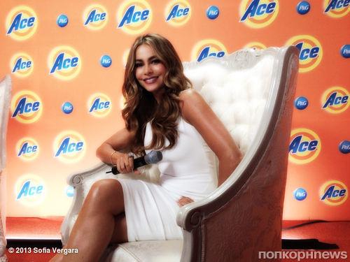 София Вергара на фотоколле для Ace