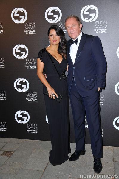 Блэйк Лайвли и Сальма Хайек на вечеринке Gucci Award в Венеции