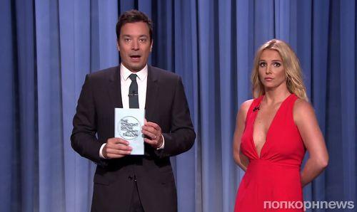 Бритни Спирс на шоу Джимми Фэллона