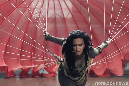 Кэти Перри представила официальный клип на «олимпийскую» песню Rise