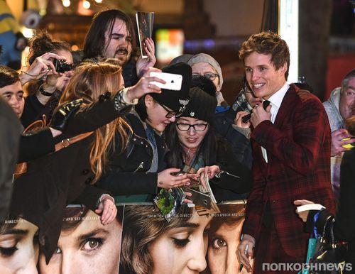 Эдди Редмэйн и Алисия Викандер на премьере фильма «Девушка из Дании» в Лондоне