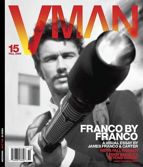 Джеймс Франко в журнале VMAN. Осень 2009