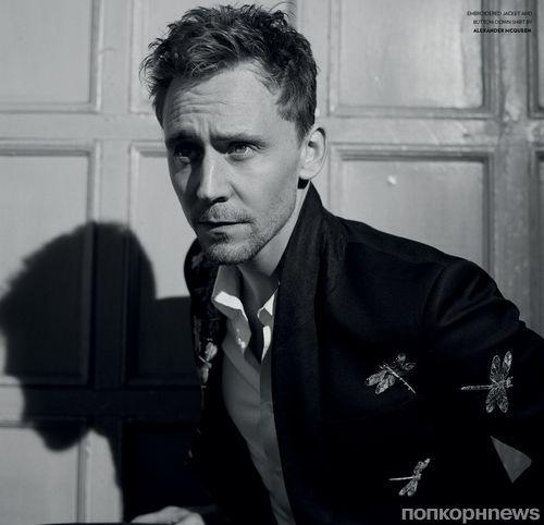 Том Хиддлстон в журнале Flaunt Men's Fashion. Весна 2013