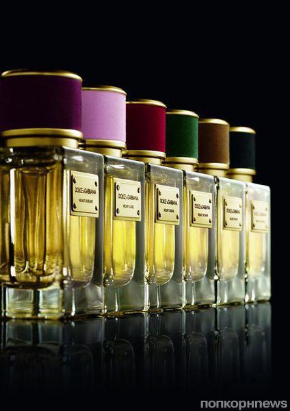 Dolce & Gabbana выпускает лимитированную коллекцию ароматов Velvet Collection