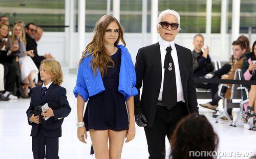Модный показ новой коллекции Chanel. Весна / лето 2016