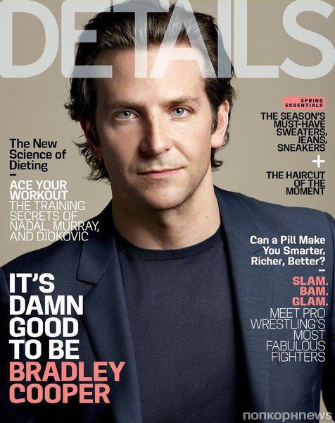 Брэдли Купер в журнале Details. Май 2013