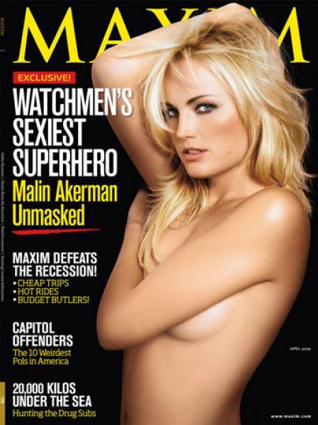 Малин Акерман в журнале Maxim. Апрель 2009