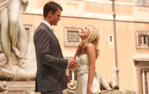 Съемки фильма «Однажды в Риме»