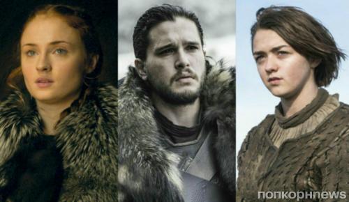 """Звезды """"Игры престолов"""" выбрали, кто больше всего достоин Железного трона"""