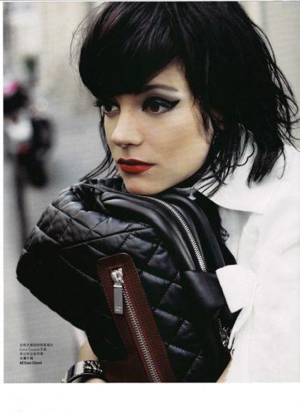 Лили Аллен в журнале Elle. Ноябрь 2009