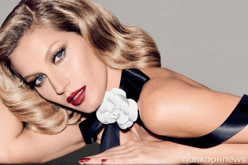 Жизель Бюндхен в ретро-фотосессии для бразильского Vogue