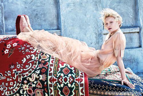 Миа Васиковска в фотосете для C Magazine, лето 2016