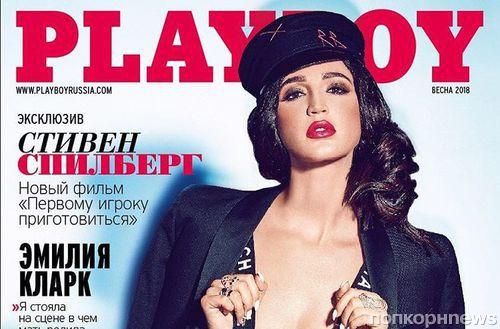 Фото: Ольга Бузова снялась полуобнаженной для Playboy