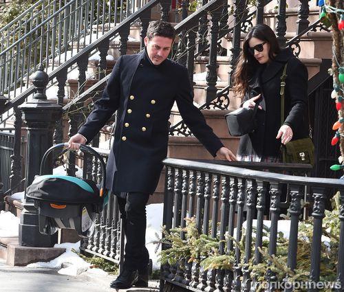 Лив Тайлер впервые появилась на публике с новорожденным сыном