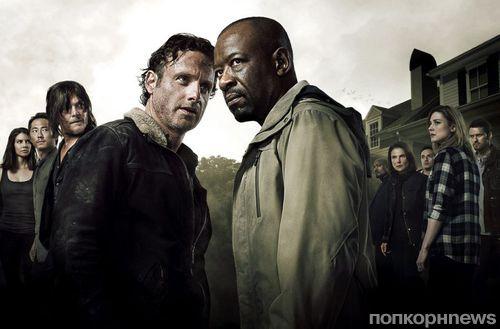 Премьеру 6 сезона «Ходячих мертвецов» посмотрели почти 15 млн человек