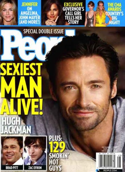 Самые сексуальные мужчины года по версии People