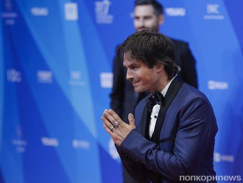 Йен Сомерхолдер стал гостем международного кинофестиваля в Пекине