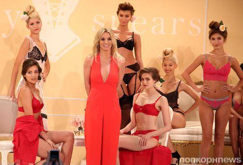Бритни Спирс представила свою коллекцию нижнего белья