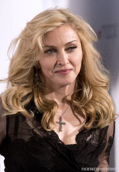 """Мадонна на презентации аромата """"Truth Or Dare"""" в Нью-Йорке"""
