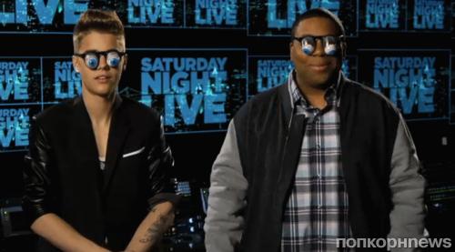 Джастин Бибер в промо-ролике SNL