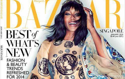 ����� �������� � ������� Harper�s Bazaar. ��������. ������ 2014