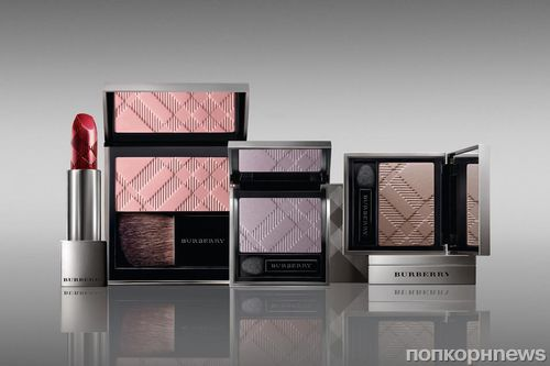 "����� ��������� ��������� �� Burberry ""Holiday 2011 Beauty Look"""
