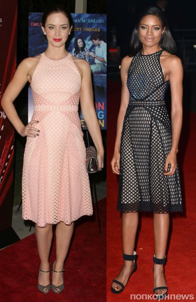 Fashion battle: Эмили Блант и Наоми Харрис