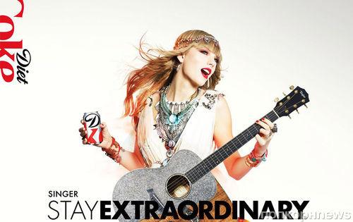 Тейлор Свифт в новой рекламной кампании Diet Coke