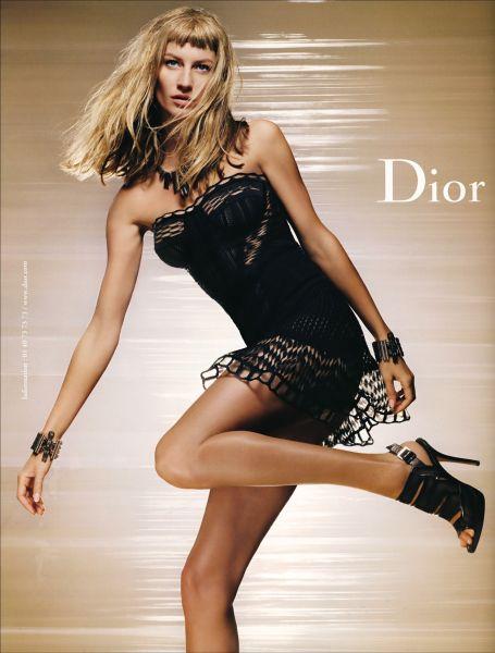 Жизель Бундхен в рекламе Dior. Весна / Лето 2009