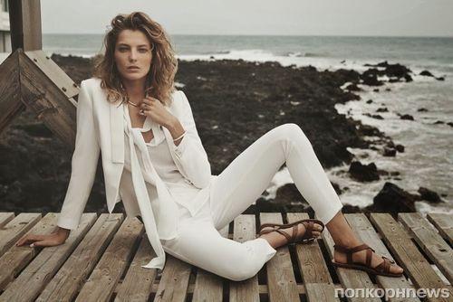 Дарья Вербова в рекламной кампании Mango. Весна 2014