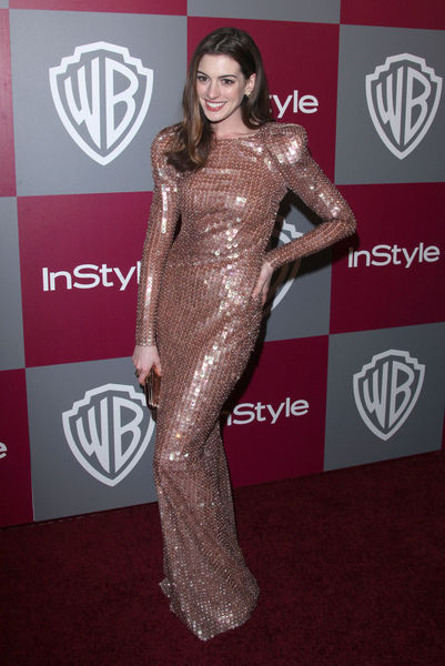 Звезды на вечеринке InStyle WB Golden Globes