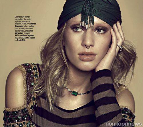 Дилан Пенн снялась в фотосессии для Vogue Бразилия