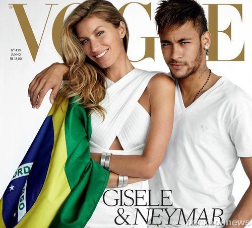 Upd: Жизель Бундхен в журнале Vogue Бразилия. Июнь 2014