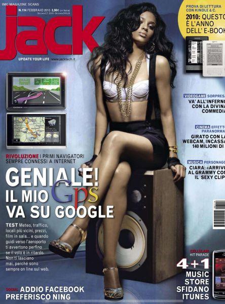 Сиара в журнале Jack. Февраль 2010