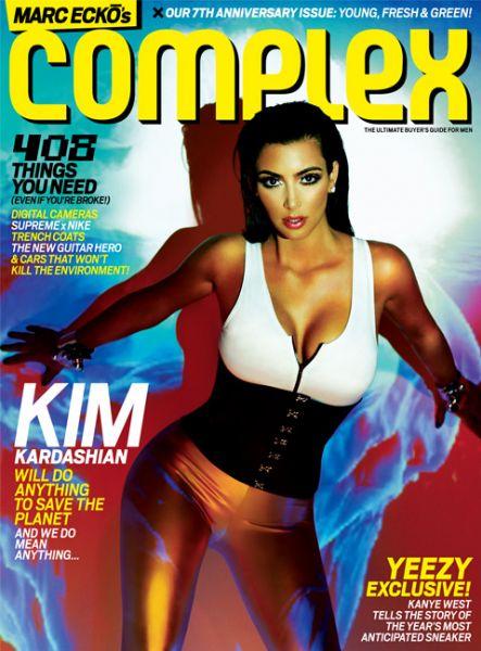 Ким Кардашян в журнале Complex. Апрель-Май 2009