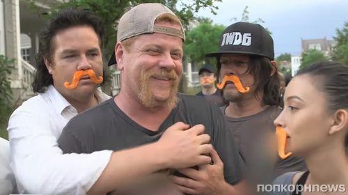 Видео: Стивен Йен и Майкл Кудлиц попрощались с фанатами «Ходячих мертвецов»