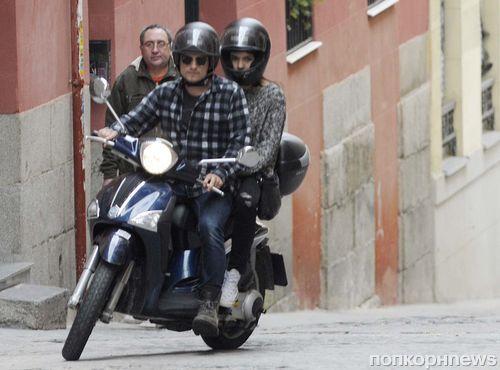 Джош Хатчерсон и Клаудия Траисак: романтический уикенд в Мадриде