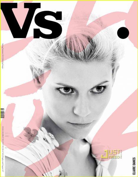 Клэр Дэйнс в журнале Vs. Весна/Лето 2010