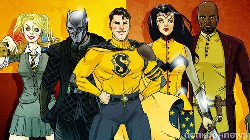 Супермена, Бэтмена и других супергероев распределили по факультетам Хогвартса
