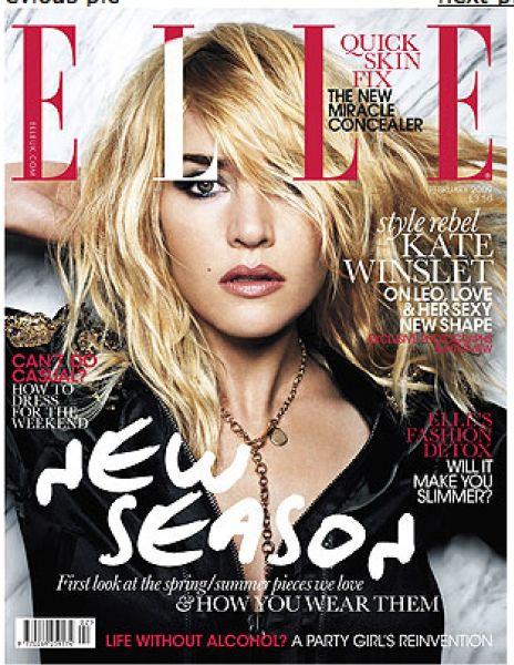 Кейт Уинслет в журнале Elle. Февраль 2009. UK