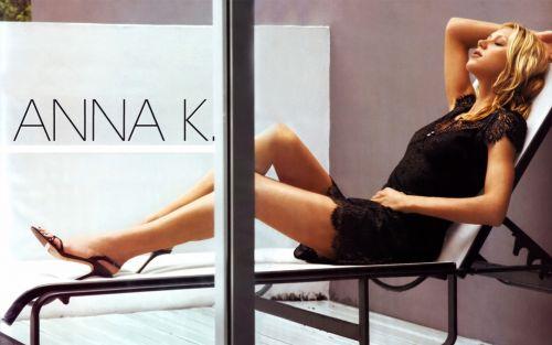 Анна Курникова в журнале Sport & Style