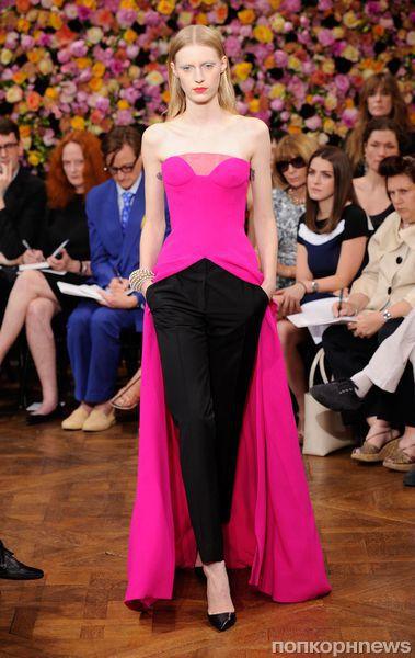 Модный показ Christian Dior Haute Couture. Осень / зима 2012-2013