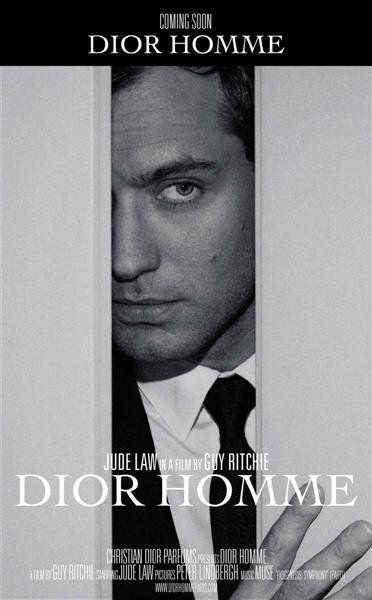 Джуд Лоу в рекламном ролике Dior, снятом Гаем Ричи