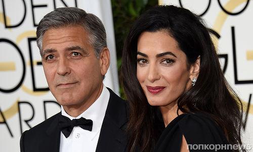 Беременная Амаль Клуни выставила Джорджа Клуни из супружеской спальни
