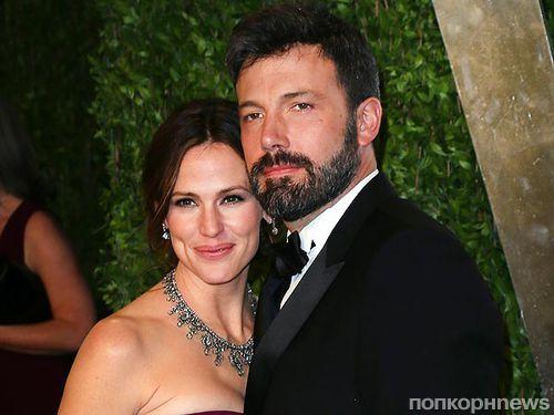 Бен Аффлек объявит о разводе с Дженнифер Гарнер на 10-ю годовщину свадьбы