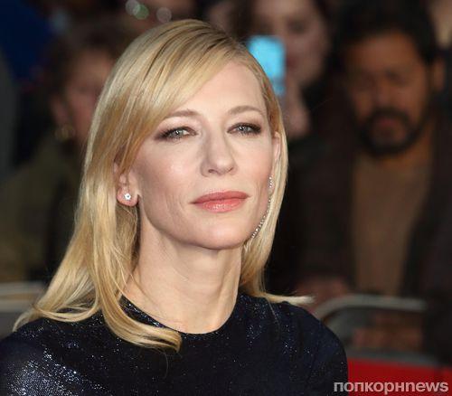 Кейт Бланшетт устала от разговоров о сексизме в Голливуде