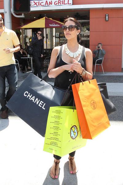 День шоппинга Ким Кардашиан