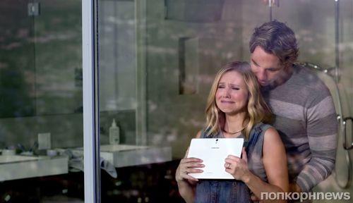 Кристен Белл и Дэкс Шепард в рекламе Samsung Galaxy Tab S