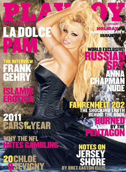 Памела Андерсон снова на обложке Playboy